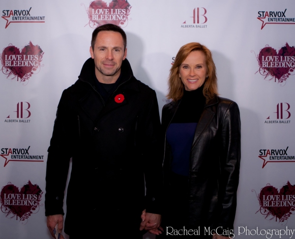 William DeVry and guest