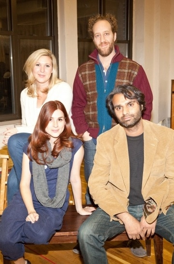 Front: Aya Cash, Rock Kohli; Back: Cassie Beck and Joey Slotnick Photo