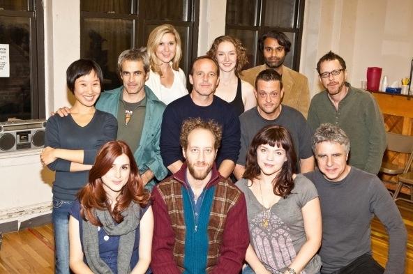 Photo Flash: Atlantic Theater Company's HAPPY HOUR in Rehearsal!