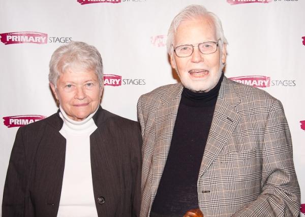 Frank Gilroy and Ruth Gilroy