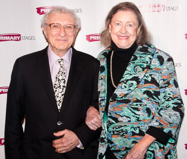 Sheldon Harnick and Elizabeth Wilson at Charles Busch, Tracy Letts, et al. at the 2011 Primary Stages Gala