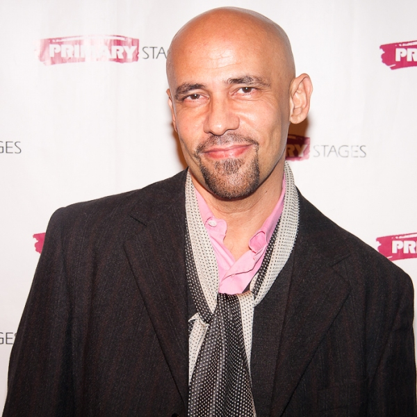 Nilo Cruz at Charles Busch, Tracy Letts, et al. at the 2011 Primary Stages Gala