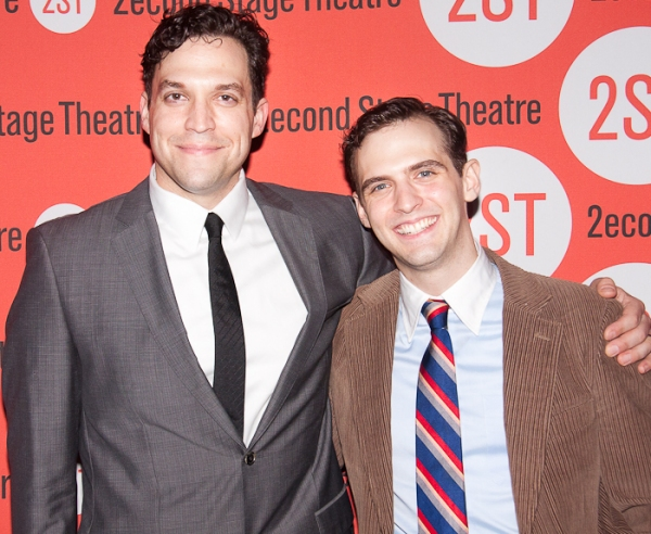 Photo Coverage: Marc Kudisch, Sebastian Arcelus & More Open THE BLUE FLOWER at Second Stage