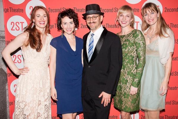 Teal Wicks, Julia Osborne, Will Pomerantz, and Megan McGeary Photo