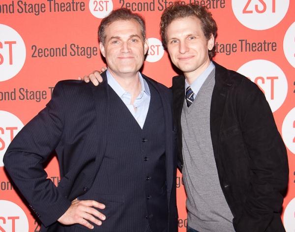 Marc Kudisch and Sebeastian Arcelus