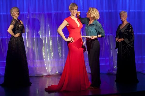 Wax figure of multi-award winning actress Kate Winslet   Photo