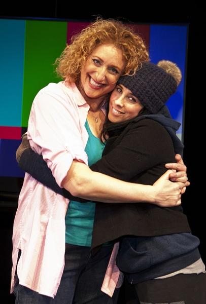 Judy Gold and Sarah Silverman