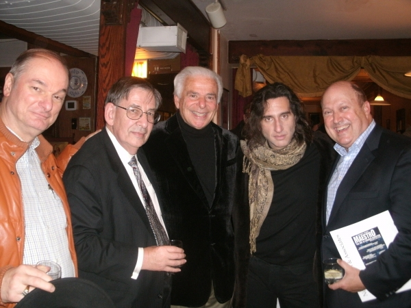 David Taylor, Henry Fogel, Elliott Golub, Hershey Felder, and Bill Zwecker