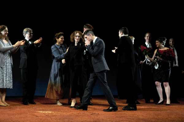 Rebecca Taichman, Stephen Karam, Nico Muhly and company