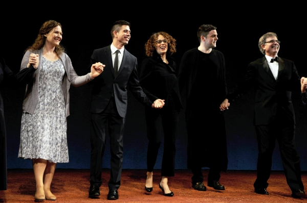 Caitlyn Lynch, Stephen Karam, Rebecca Taichman, Nico Muhly and Neal Goren