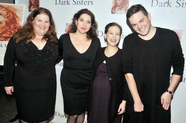Jennifer Check, Eve Gigliotti, Jennifer Zetlan, Nico Muhly Photo