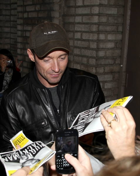 Photo Coverage: HUGH JACKMAN, BACK ON BROADWAY - Opening Night Curtain Call & Stage Door