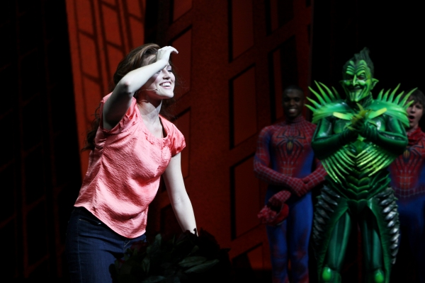 Photo Coverage: Rebecca Faulkenberry Makes SPIDER-MAN Debut