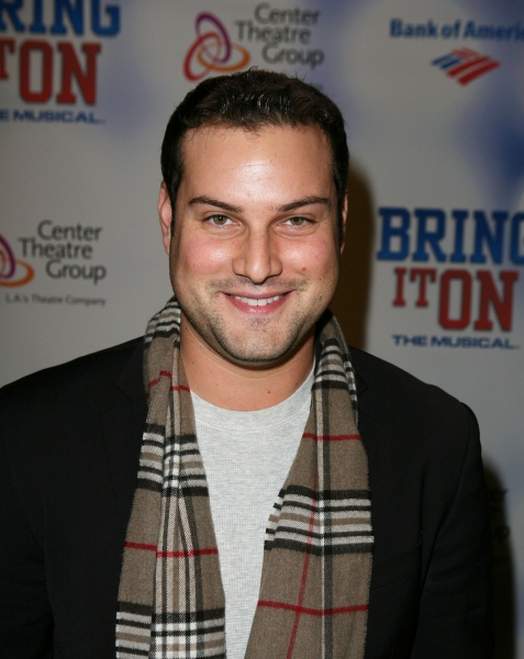 Max Adler  at BRING IT ON: THE MUSICAL Tour Opens in LA!