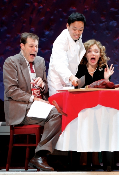 John Bolton, Andrew Cristi & Rachel Bay Jones at A CHRISTMAS STORY Launches National Tour