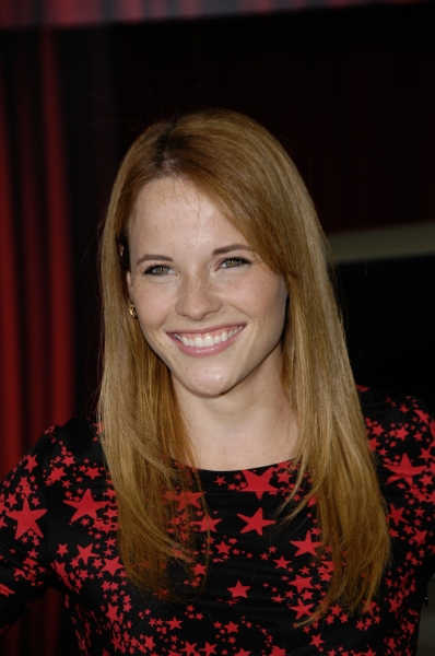 Katie Leclerc at Premiere of New MUPPETS Movie