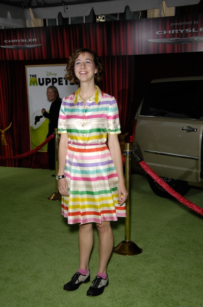 Kristen Schaal at Premiere of New MUPPETS Movie