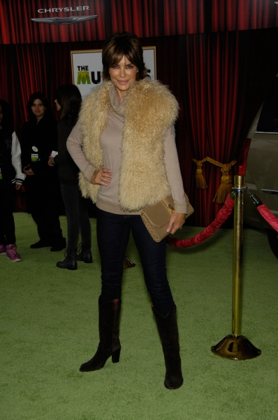 Lisa Rinna at Premiere of New MUPPETS Movie