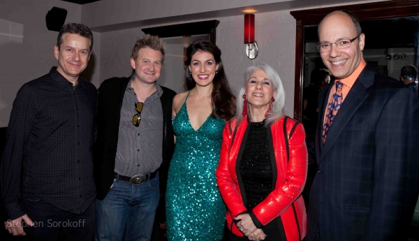 Scott Blakeman, Johnny Rodgers, Jennifer Sheehan, Benjamin Levy Photo