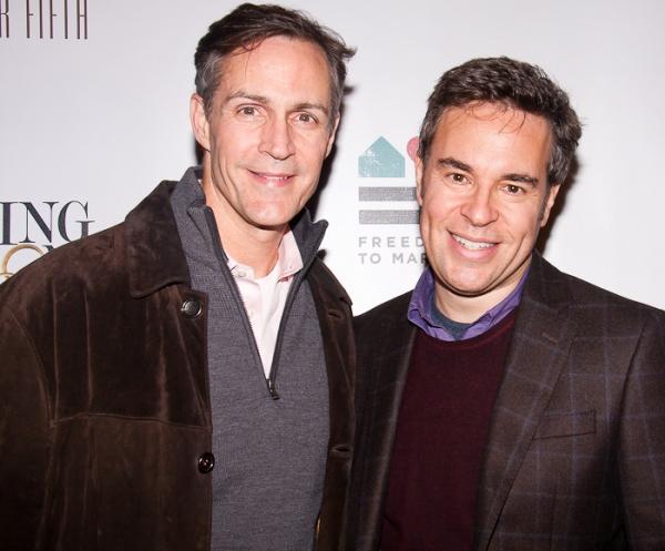 Howard McGillin and Richard Samson