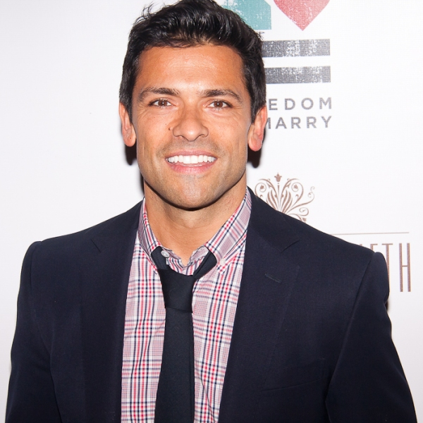 Mark Consuelos at STANDING ON CEREMONY: THE GAY MARRIAGE PLAYS Celebrates New York Premiere