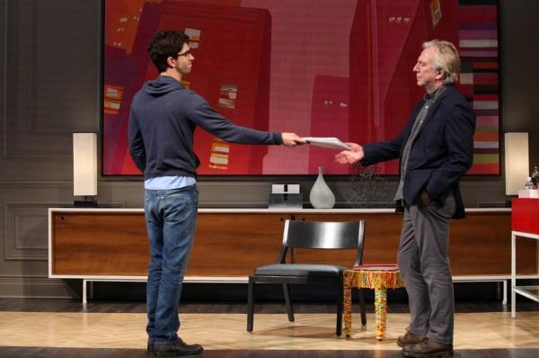 Photo Flash: First Look at Alan Rickman in Broadway's SEMINAR!