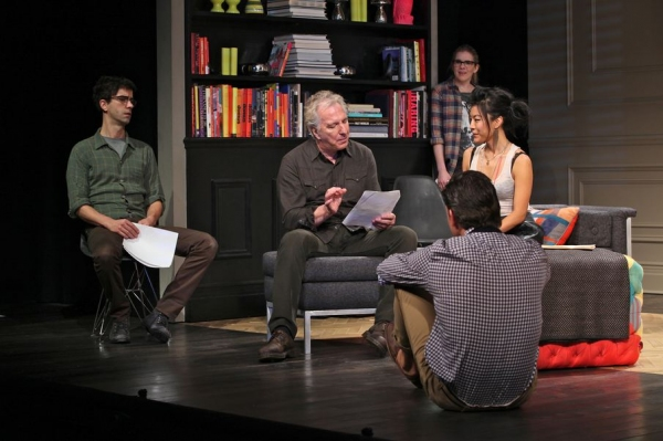 Photo Flash First Look At Alan Rickman In Broadway S Seminar