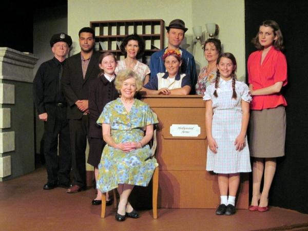 Alice Lunsford.  standing l to r: Richard Little, Joseph Roman, Emma Hatton,  Cynthia Photo