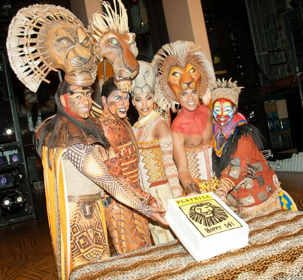 Photo Coverage: Happy 14th Broadway Birthday LION KING!
