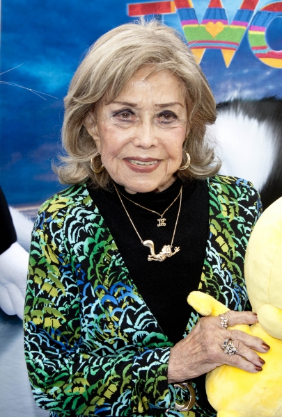 Nov. 13, 2011 - Los Angeles, USA - US voice recording artist June Foray arrives for the World Premiere of the movie ''Happy Feet Two'' at Grauman's Chinese Theatre in Los Angeles, USA, on 13 November 2011. Photo: Hubert Boesl (Credit Image: © Hubert Bo