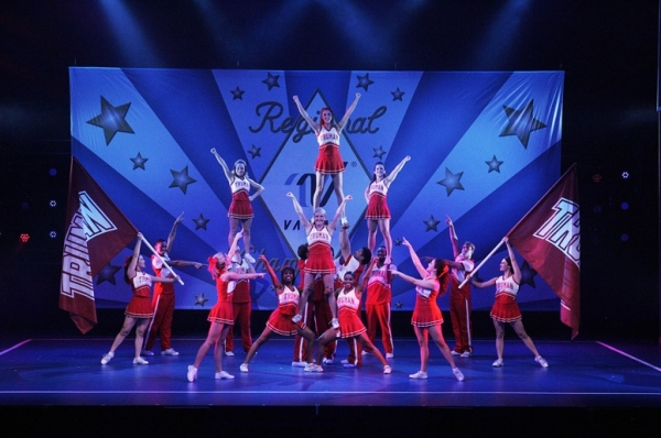 Photo Flash: BRING IT ON Begins Previews Tonight!