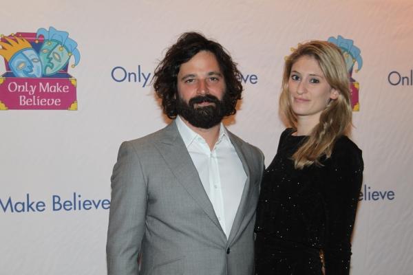 Simon Hammerstein and Francesca Hammerstein