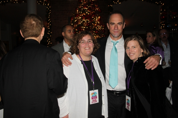 Beth Armitage, Christopher Meloni and Lee Armitage