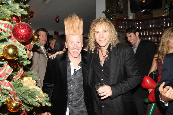 Bello Nock and David Bryan at Only Make Believe 2011