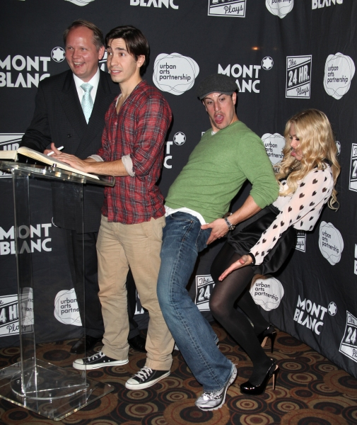 Photo Coverage: Sarah Silverman, Jason Biggs & More at the 2011 24 HOUR PLAYS