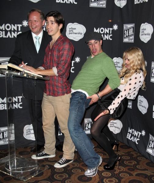 Photo Coverage: Sarah Silverman, Jason Biggs & More at the 2011 24 HOUR PLAYS