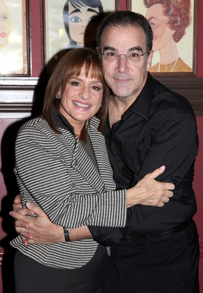 FREEZE FRAME: Patti LuPone & Mandy Patinkin Meet the Press