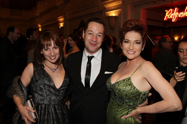 Vanessa Claire Smith, actor French Stewart and Carolyn Hennesy   at Carolyn Hennesy, Patrick J. Adams, et al. at the 2011 Ovation Awards