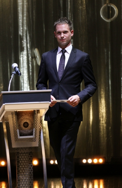 Patrick J. Adams at Carolyn Hennesy, Patrick J. Adams, et al. at the 2011 Ovation Awards