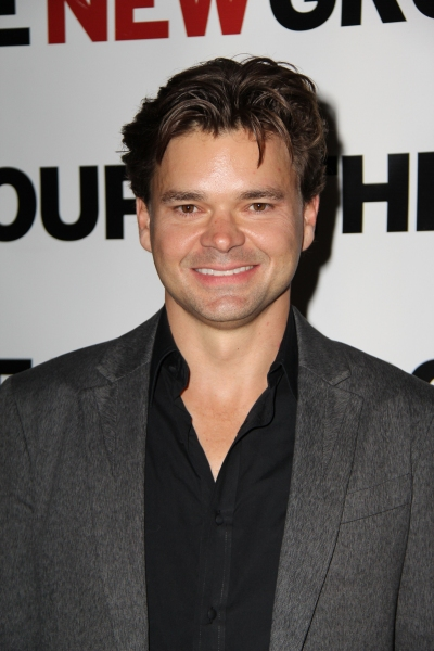 Photo Flash: Hunter Foster, Adam Trese, et al. at BURNING Opening!