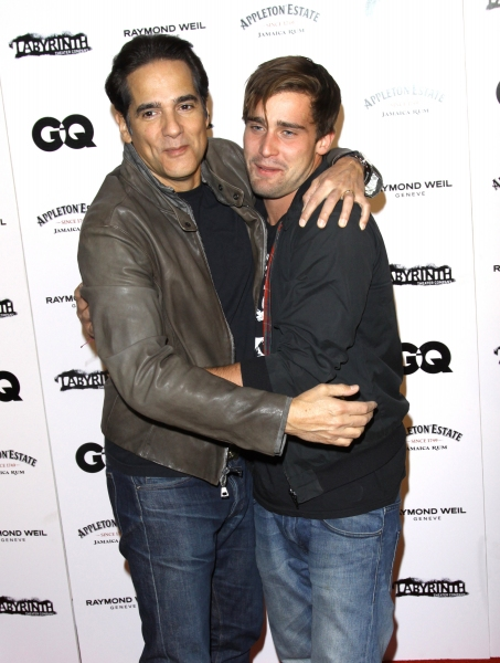 Yul Vazquez and Christian Cooke Photo