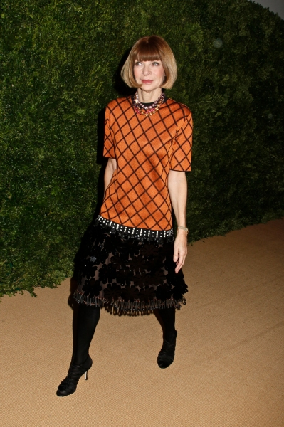 Anna Wintour at Amanda Seyfried, et al. at CFDA/Vogue Fashion Fund  Awards
