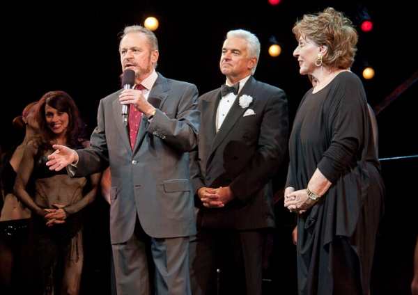 Barry Weissler, John O'Hurley, Fran Weissler at Happy 15th Broadway Birthday CHICAGO!