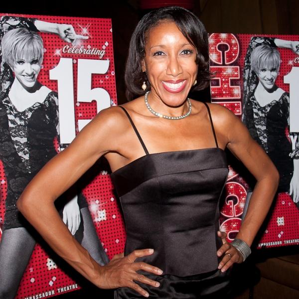 Nicole Bridgewater at Happy 15th Broadway Birthday CHICAGO!