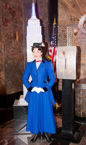 Photo Coverage: MARY POPPINS Lights the Empire State Building in Honor of 5th Broadway Anniversary