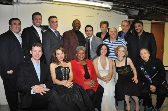 Bill Daugherty, Ben Davis, Patrick Page, Chuck Cooper, Max Von Essen, Ron Bohmer, Eddie Korbich, William Michals, Jesus Garcia, Kevin Earley, Sarah Uriarte Berry, Terri White, Barbara Walsh, Nancy Anderson and Scott Siegel