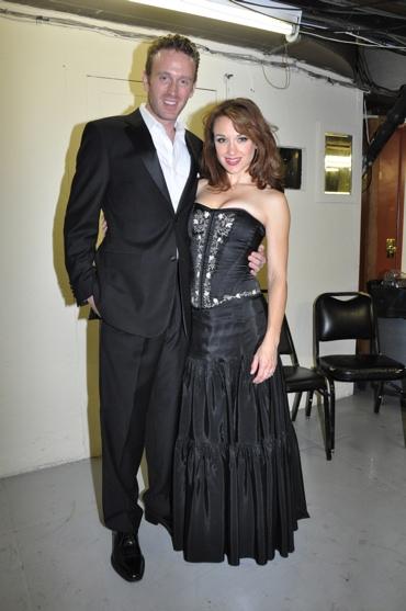 Ben Davis and Sarah Uriarte Berry