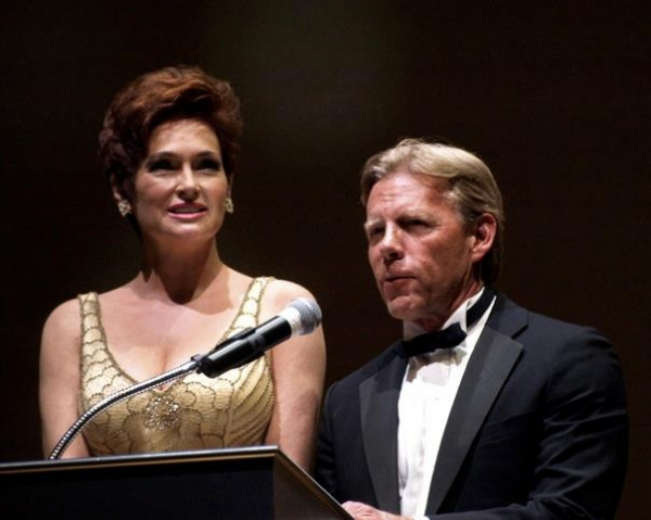 Carolyn Hennesy, Tom Moore at Inside the 2011 Ovation Awards!