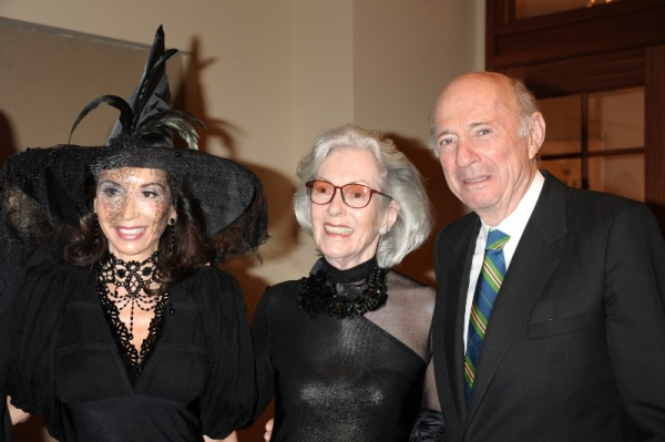 Fe Fendi, Barbara Tober, Donald Tober Photo