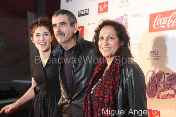 Marina Gatell, Joaquin Oristrell y Carmen Balague